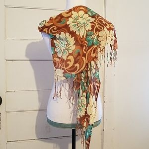 Floral Chic Scarf